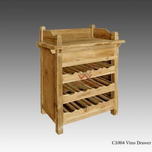 C1004 Vino wooden drawer