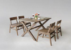 Indonesia's Reclaimed Teak is Simply Teak that has Been Getting from Bridges, Structural Beams in Housing, and Wharfs