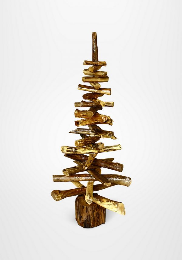 RM113 Christmass tree wooden in natural color