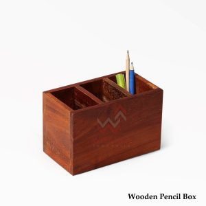 Wooden Pencil Box