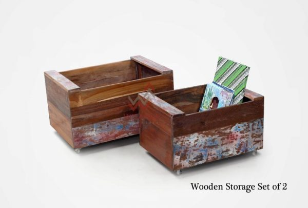 Wooden Set of 2