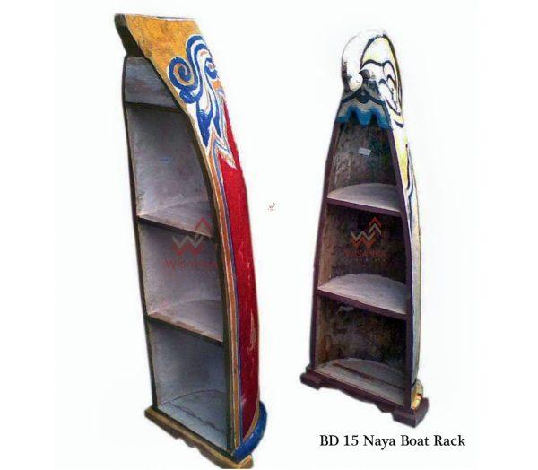 Naya Boat Wood Rack