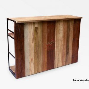 Taon Wooden Bar Table