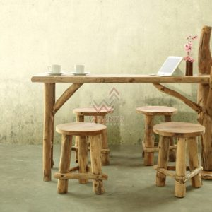 RD004 Katana Reclaimed Dining Set