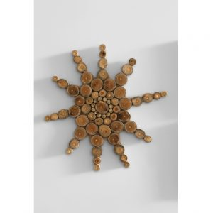 WD01 Star Teak Wall décor