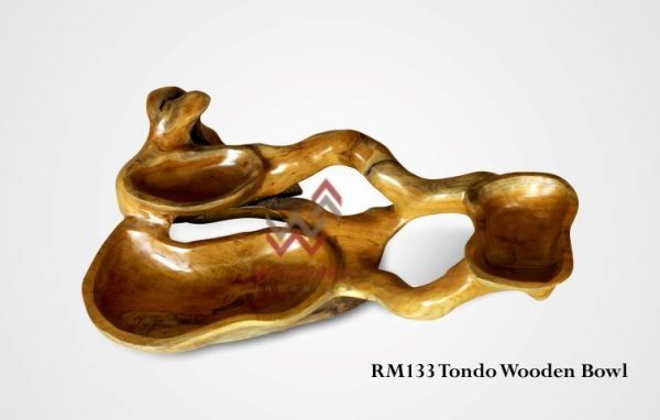 Tondo Wooden Bowl