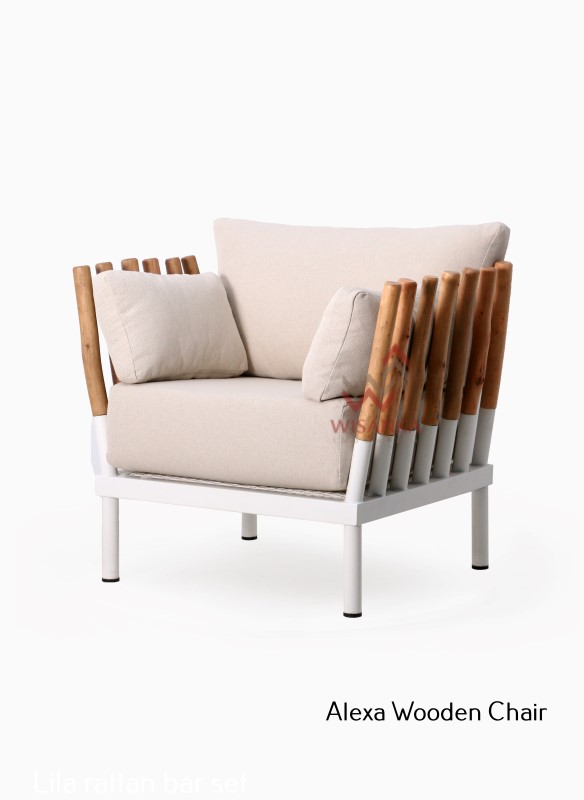 Alexa Teak Branch Chair