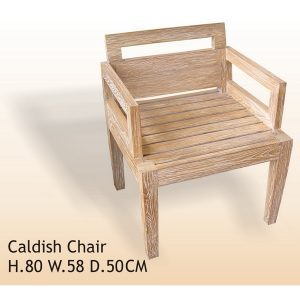 casdish rustic wood chair