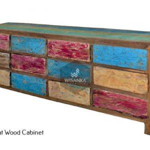 Sharon Boat Wood Buffet