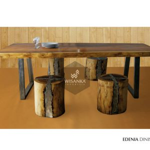 Edenia Reclaimed Teak Dining Set