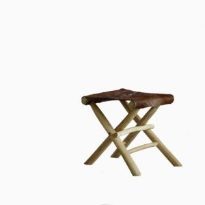 GOAT Reclaimed Teak FOLDING STOOL