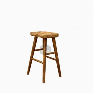 Belinda Wooden Bar Chair