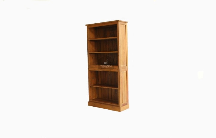 Tenoji Reclaimed Teak Book Shelf