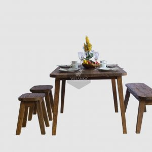 Rey Reclaimed Teak Dining Set